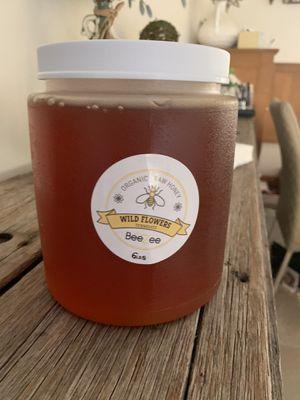 Raw organic pure honey 🍯 6 lbs pot jar bottle wildflowers for Sale in Pembroke Park, FL