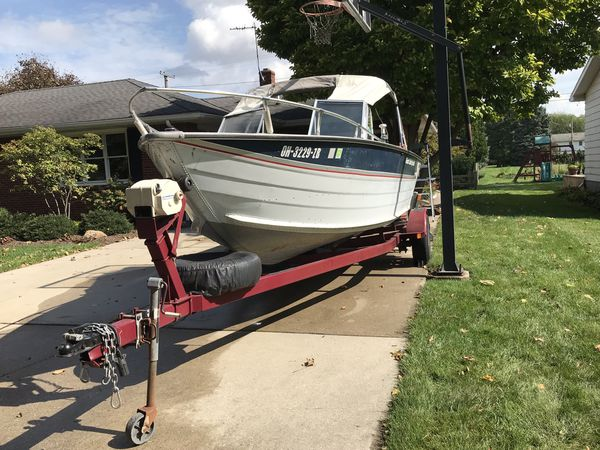 19' 1989 Sea Nymph Boat, 1996 Johnson 90 HP Motor