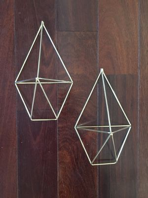 Geometric wall plant hangers for Sale in Springfield, TN