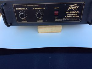 Vintage Peavey M-2600 M 2600 Stereo Power Amplifier. for Sale in Sterling, VA