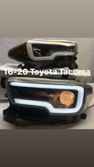 16-20 Toyota Tacoma LED headlights black for Sale in Los Angeles, CA