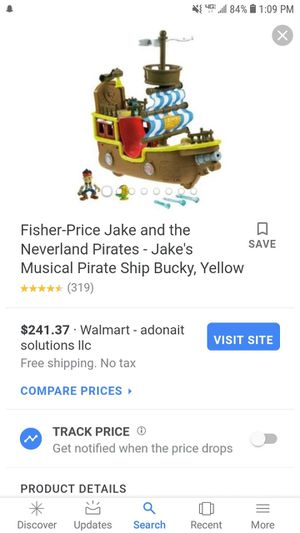 Fisher price pirate ship for Sale in Cash, AR