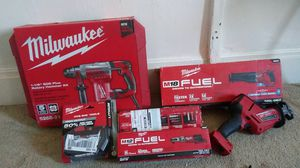 Milwaukee cordless power tools for Sale in American Fork, UT