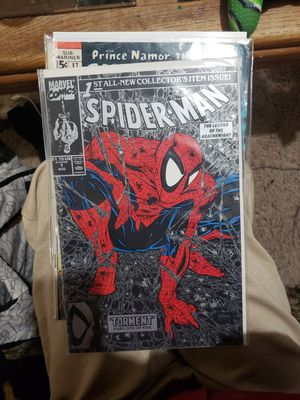 """Spiderman Silver webbing """"Torment part one of five for Sale in Wenatchee, WA"""