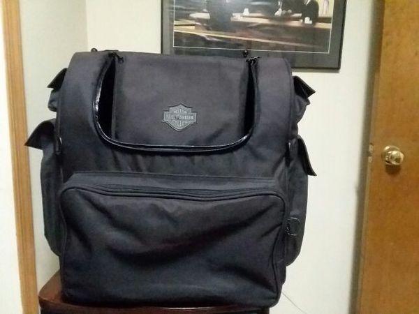 Large Harley Davidson luggage bag