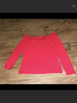 Banana Republic Factory off shoulder pink top. NWOT. Medium for Sale in New York, NY