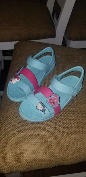 Girls Crocs Hello Kitty Size 13 for Sale in Houston, TX