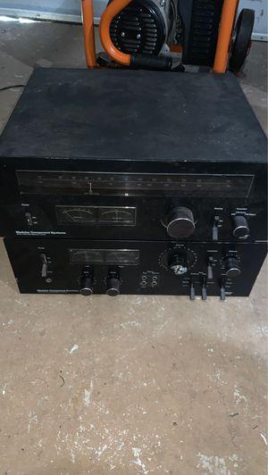 Old radio & stereo - modular component system for Sale in Burlington, NJ
