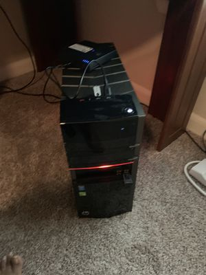 HP Envy i-7 desktop with 16 gb RAM, 4GB Video Memory NVIDIA, Usb 3.0, Hdmi and display port, DUAL Band Wireless! Windows 10 Pro! Built in BLUE RAY DR for Sale in Richardson, TX