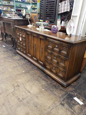 Antique dresser. Oak wood for Sale in Fairfax, VA