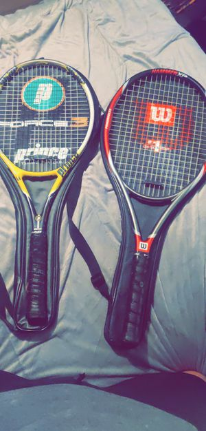 Wilson and Prince professional Tennis Rackets for Sale in Greer, SC