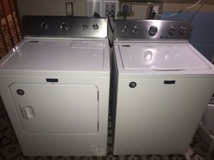 Like New Maytag Washer and Dryer!! for Sale in Miami Beach, FL