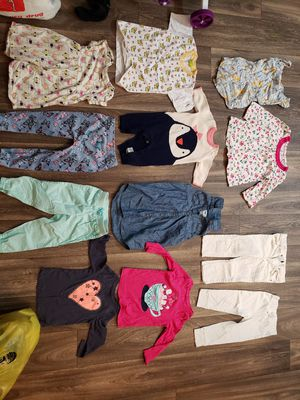 Assorted toddler clothes (3 yrs old) with toys for Sale in Chula Vista, CA