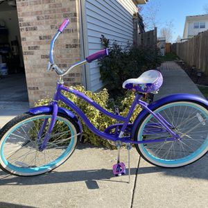 24in Girls Huffy Cruiser Bike for Sale in Lake Zurich, IL