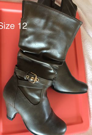 Girls Boots size 12 child for Sale in Hollister, CA