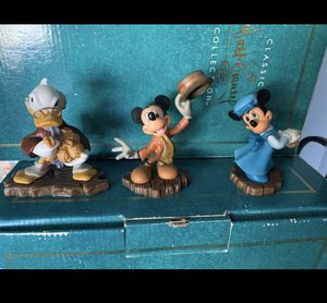 WDCC - Mickey's Christmas Carol - Set of 3 for Sale in Clovis, CA