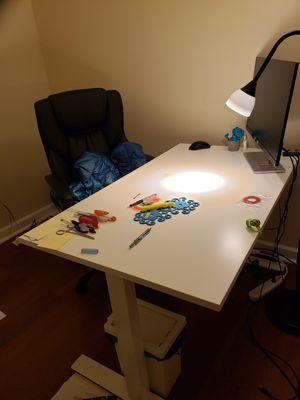 Ikea sit stand desk for Sale in Philadelphia, PA