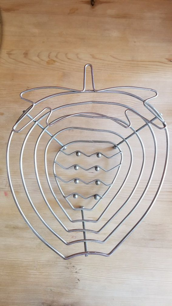 Metal Fruit basket or bread bowl! Can use it for anything