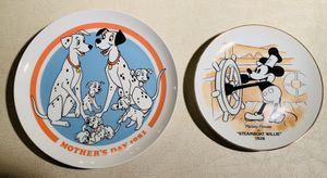 2 Vintage Authentic-DISNEY Decorative Collector PLATES for Sale in Metuchen, NJ