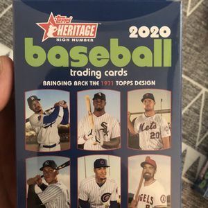 Topps Heritage HIGH NUMBER BASEBALL 2020 - (3) Hanger Boxes SEALED! Luis Robert RC 📈📈 for Sale in Fort Lauderdale, FL