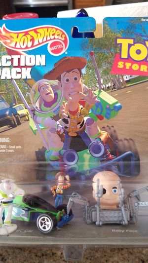 Hot Wheels Action pack Toy Story for Sale in Las Vegas, NV