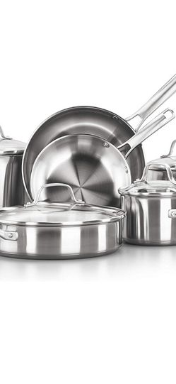 Calphalon Classic Cookware Set 10 Piece for Sale in Maricopa,  AZ