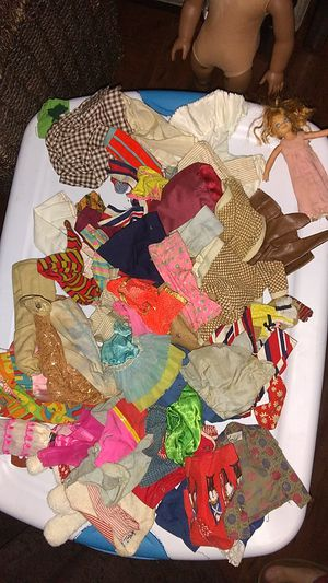 Vintage Barbie Doll Clothes 68 Piece Lot!! & TUTTI Doll for Sale in Costa Mesa, CA