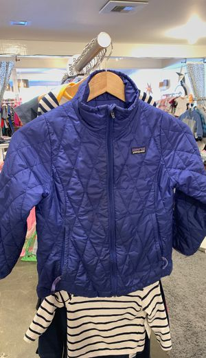 Girls Patagonia Blue Polyfill Jacket Size 7/8 for Sale in Seattle, WA
