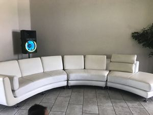 Selling our lovely sectional good Condition well Took an care of no rips or ters must sell moving for Sale in Lakeland, FL