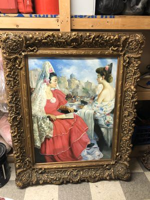Vintage picture frame for Sale in Queens, NY