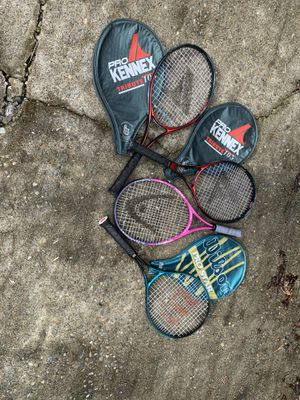 Tennis rackets. for Sale in Yarrow Point, WA