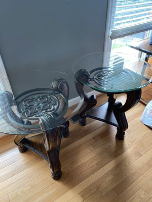 End tables - MOVING SALE! $60 IF PICKED UP TODAY! for Sale in Springfield, VA