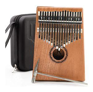 JDR kalimba 17 Keys Thumb Piano,Portable Mbira Finger Piano Gifts for Sale in Orlando, FL
