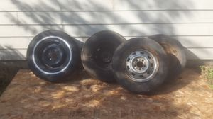 4 mismatched trailer tires for Sale in Vancouver, WA
