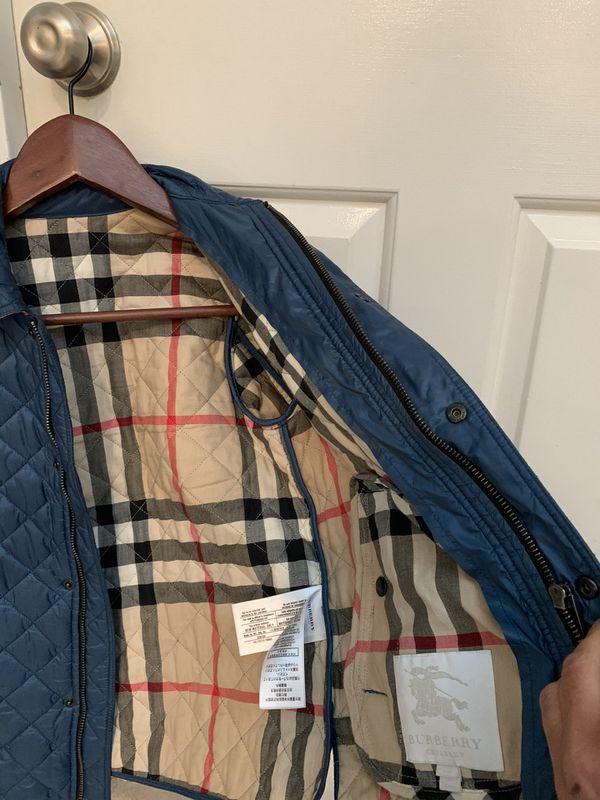 Kids boy Burberry jacket size 10