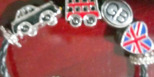 London Sterling Silver Charm Bracelet for Sale in Mesa,  AZ