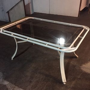 Free Metal And Glass Patio Table for Sale in San Diego, CA