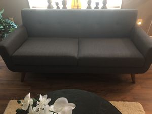 Couch and matching ottoman for Sale in Odenton, MD