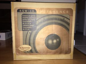 Klipsch 10 inch subwoofer RSW-10 for Sale in Concord, CA