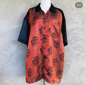 Chinese dragon scale button up 🐉 for Sale in Mission Viejo, CA