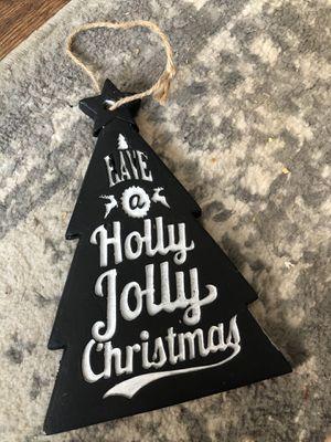 Wooden Christmas quote door hanger for Sale in Montgomery, IL