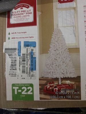 Christmas tree with lights for Sale in Everett, WA