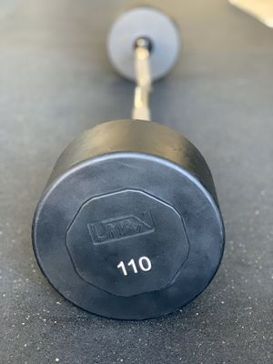 UMAX 110lbs Fixed EZ Curl Barbell for Sale in Elk Grove, CA