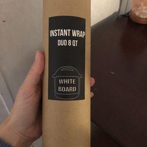 Instant Pot White Board Protective Cover Skin Art for Sale in Houston, TX