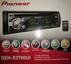 Pioneer DEH-X3700UI CD RDS Receiver for Sale in San Francisco, CA