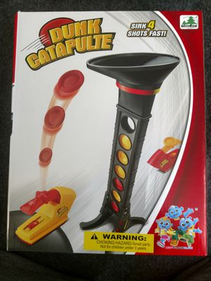 Dunk catapulte kids game. Only 3 left for Sale in DeKalb, IL