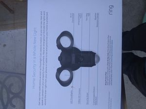 Ring floodlight cam for Sale in Jurupa Valley, CA