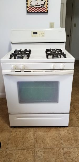Whirlpool stove and conventional microwave for Sale in Newmanstown, PA