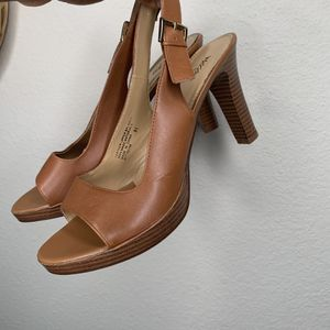 Mossimo sling back open toe heels for Sale in Silver Spring, MD