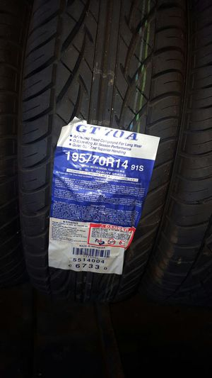 New Tires listed in pictures $55 each for Sale in Cleveland, OH